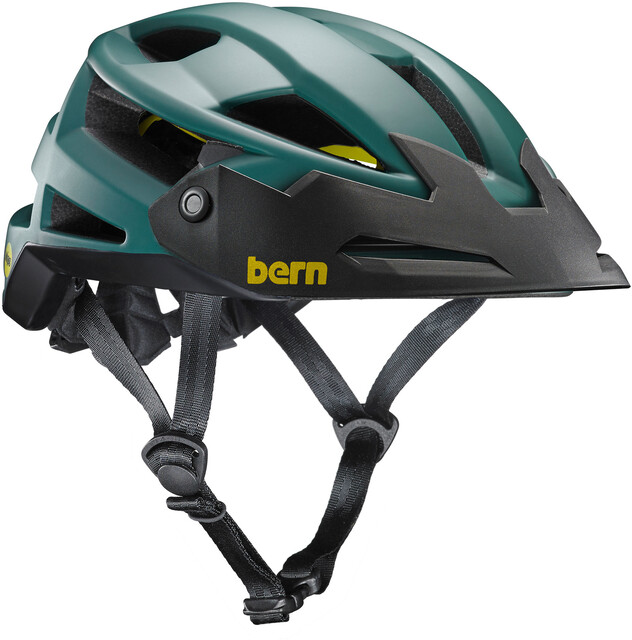 Bern FL-1 XC Type MIPS Helmet with Visor Matte Hunter Grön